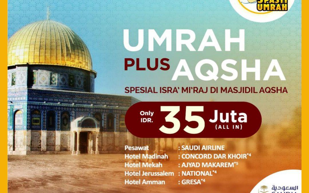 Umrah Plus Aqsha