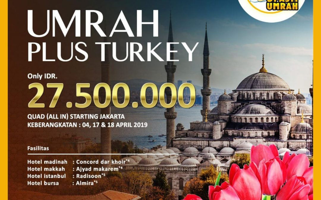 UMRAH PLUS TURKEY