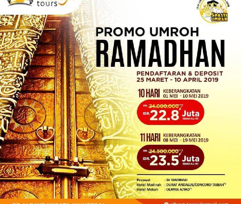 Promo Umroh Ramadhan