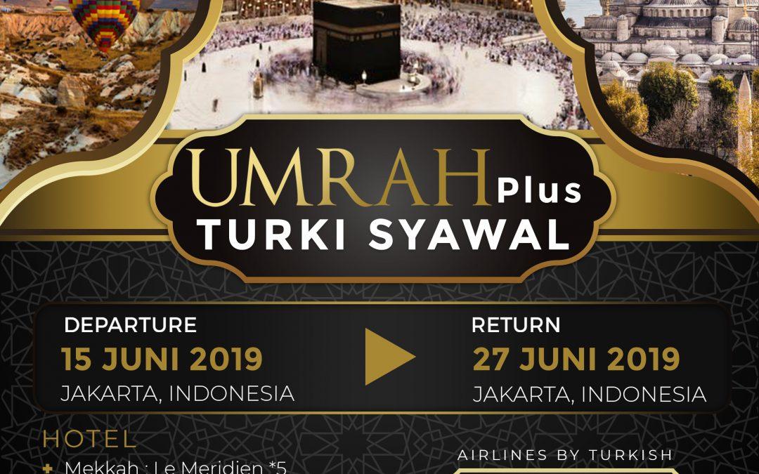UMRAH PLUS TURKI SYAWAL