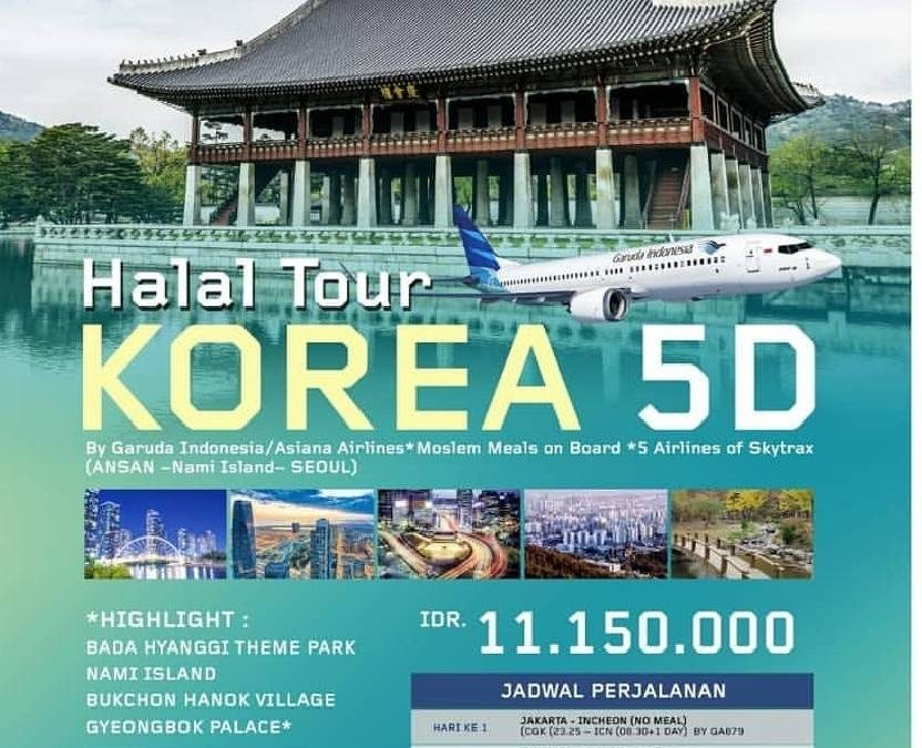 Korea Halal Tour